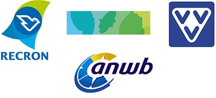 Logos Brancheverbände RECRON ANWB VVV VEERO